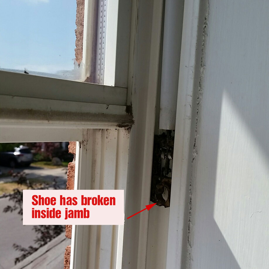 Double Hung Window Repair Or Sash Service