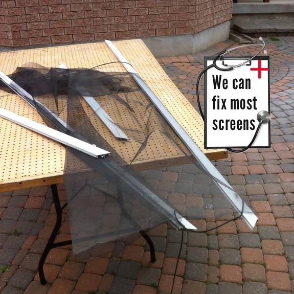 doctor screen screen repair man